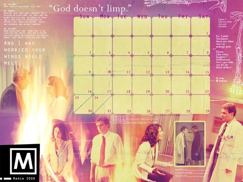 House MD Calander March