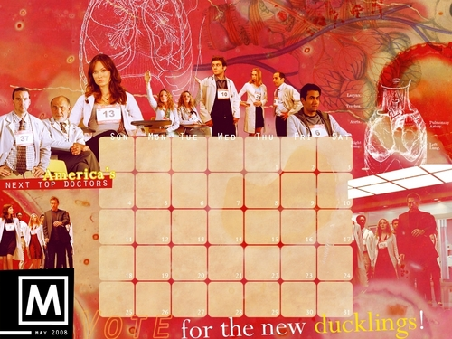 House MD Calander May