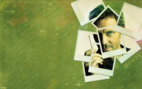 House M.D. wallpaper probably containing a newspaper called House MD