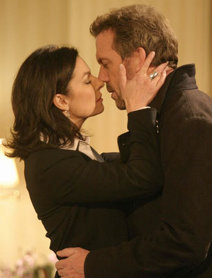 House & Stacy (kiss)
