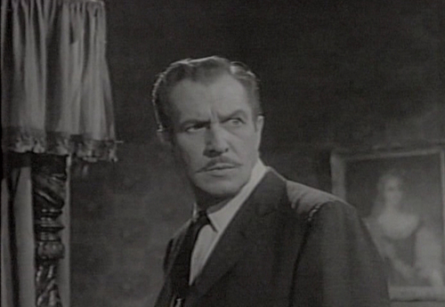 Vincent Price wallpaper with a business suit, a suit, and a well dressed person called House on Haunted Hill