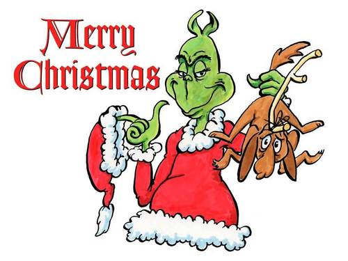 How the Grinch গাউন বড়দিন