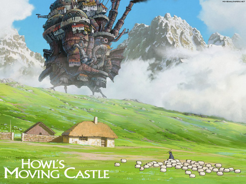 Howl's Moving kasteel