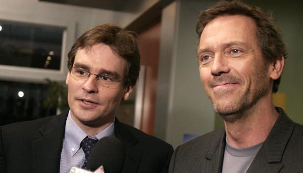 Hugh and Robert Sean Leonard.
