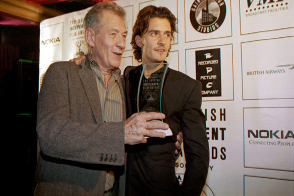 Ian McKellen & Orlando Bloom