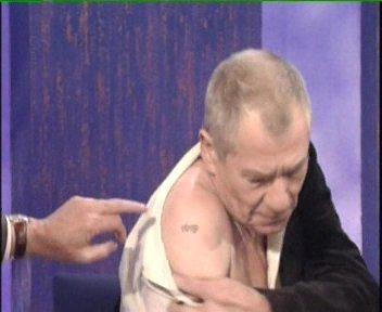 Ian McKellen lotr tattoo