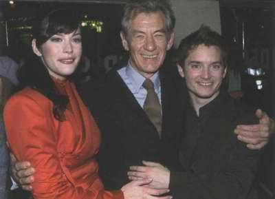 Ian McKellen with Co-stars