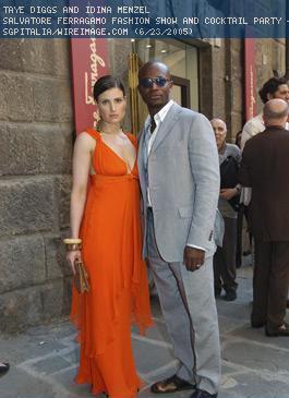 Idina Menzel & Taye Diggs