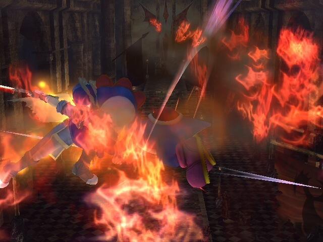 Ike destroys Yoshi