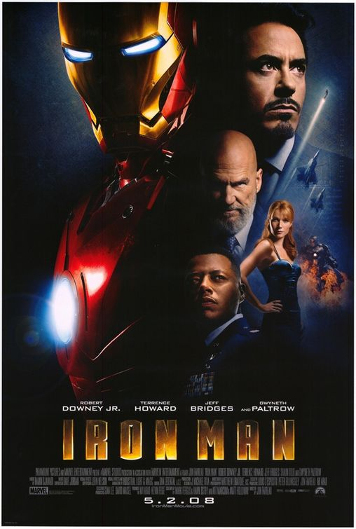 Iron Man US Movie Poster