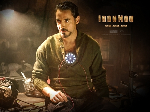 Robert Downey Jr karatasi la kupamba ukuta probably containing a tamasha called Iron Man- Robert Downey Jr.