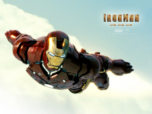 Iron Man wallpaper possibly containing a biplane called Iron Man