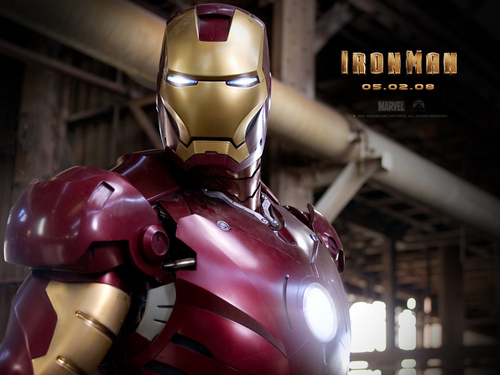 Iron Man wallpaper probably containing a breastplate, an armor plate, and an armet called Iron Man