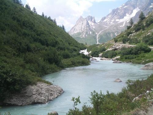 Italy Hintergrund titled Italian Alps