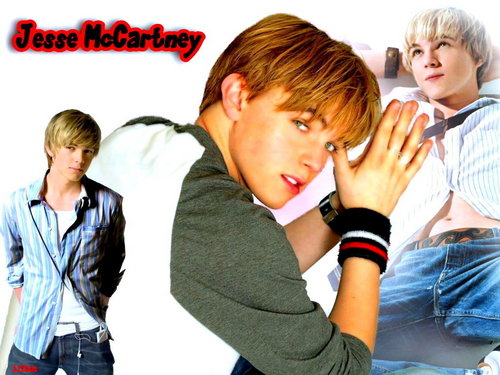 Jesse McCartney wallpaper possibly with a neonate and a portrait titled JM