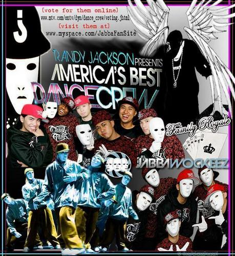America's Best Dance Crew wallpaper possibly containing anime called JabbaWockeeZ