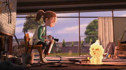 Pixar fond d'écran containing a living room called Jack-Jack Attack (Short film)