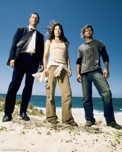 Jack,Kate,sawyer-season 1