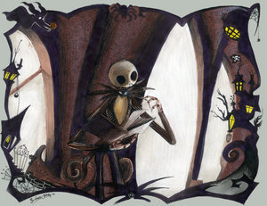 Nightmare Before Christmas wallpaper titled Jack: The Pumpkin King