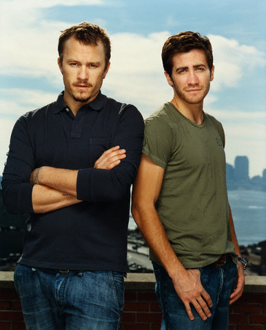 Jake Gyllenhaal wallpaper probably with a leisure wear entitled Jake & Heath