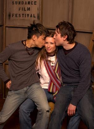 James, Lee and Shawnee Smith