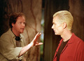 James Marsters & Joss Whedon - btvs-behind-the-scene photo