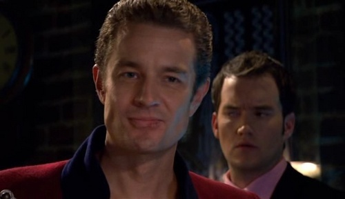 James Marsters wallpaper probably containing a business suit called James on Torchwood