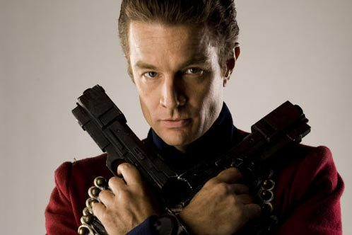 James Marsters wallpaper probably containing a rifleman titled James on Torchwood