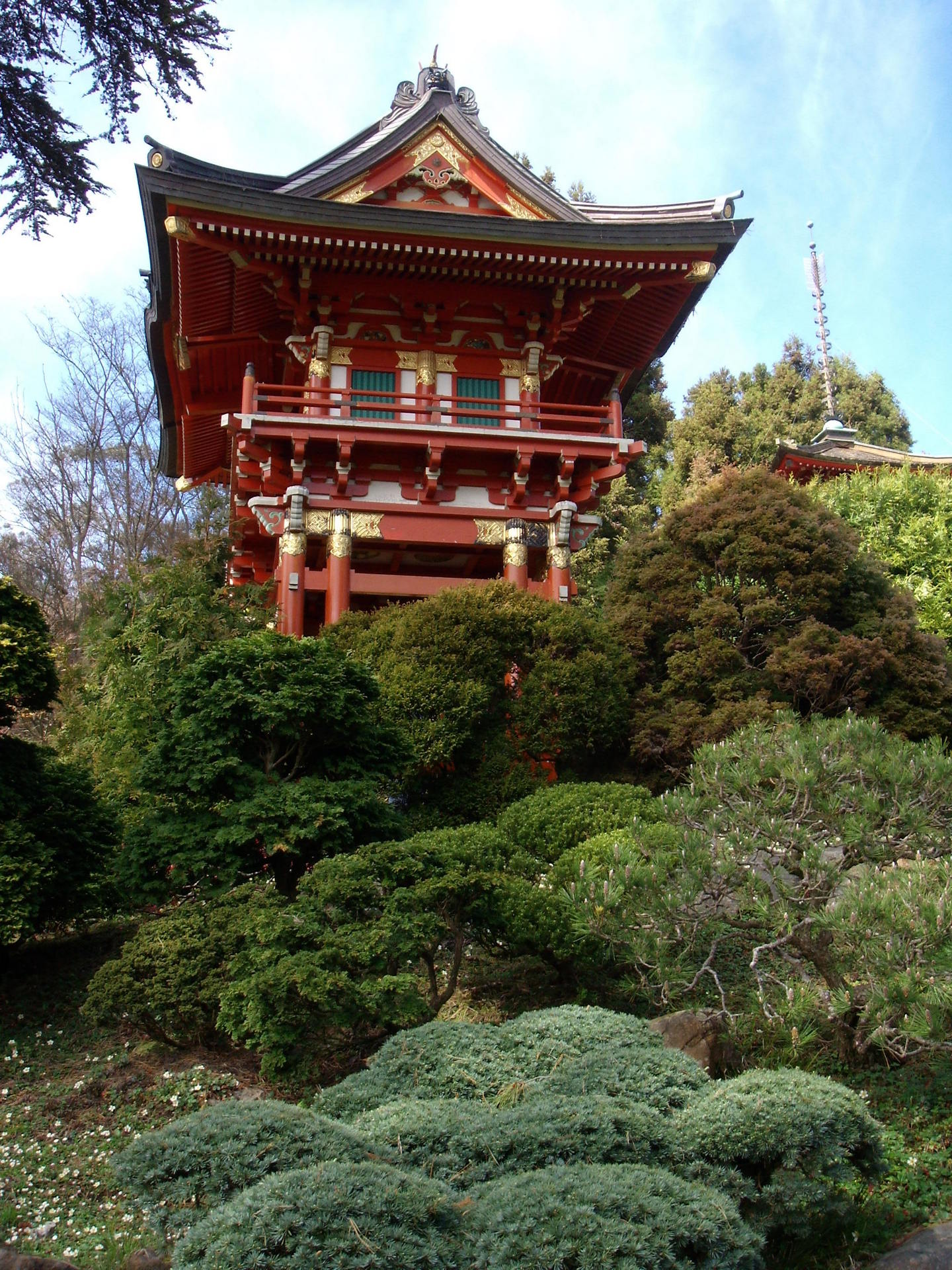 1000 images about japanese architecture on pinterest - Japanese tea garden san francisco ...