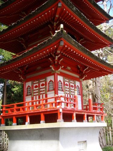 Japanese té Garden