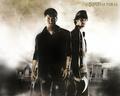 Jared&Jensen  - supernatural photo