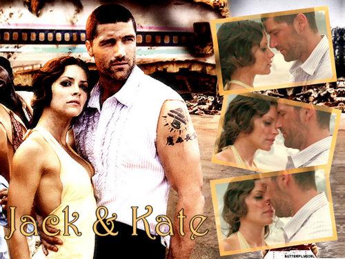 Jack and Kate fond d'écran titled Jate