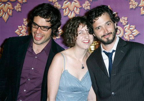 Flight of the Conchords fond d'écran called Jemaine, Kristen, Bret