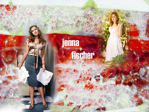 Jenna Fischer - actresses Wallpaper