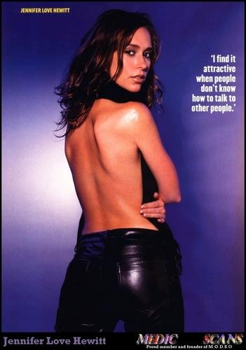 Jennifer Love Hewitt wallpaper entitled Jennifer- Maxim 1999