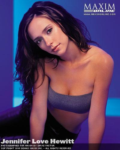 Jennifer Love Hewitt wallpaper entitled Jennifer- Maxim 1999