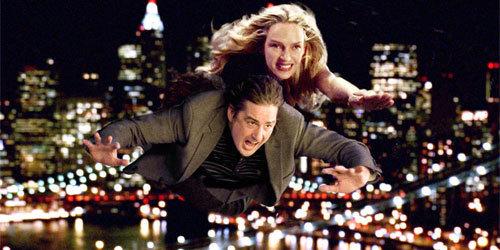 Jenny and Matt flying!!