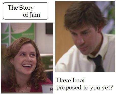 Jim & Pam (Chair Lady) #1