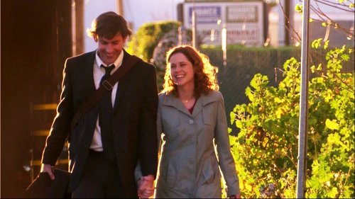 TV Couples Wallpaper Entitled Jim Pam The Office