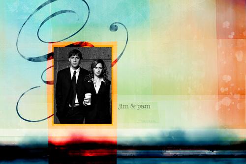 Jim/Pam achtergrond
