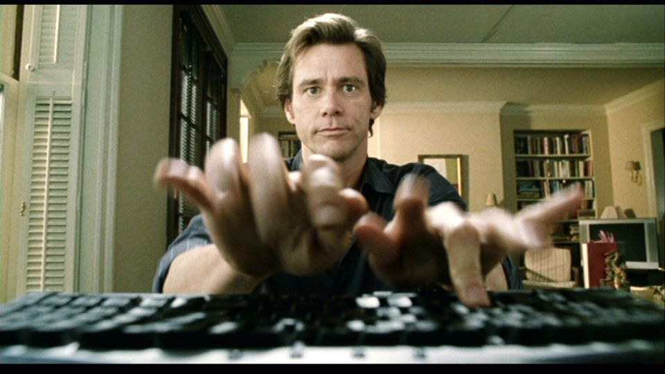 Jim carrey bruce almighty soup