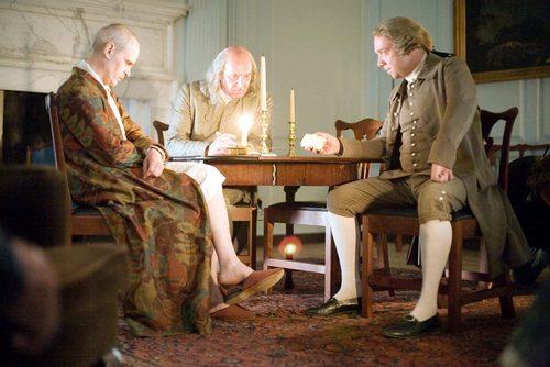 John Adams & Ben Franklin