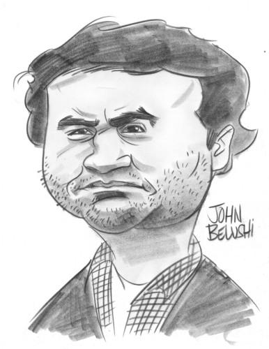 John Belushi Caricature