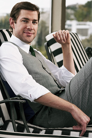 John Krasinski in Parade