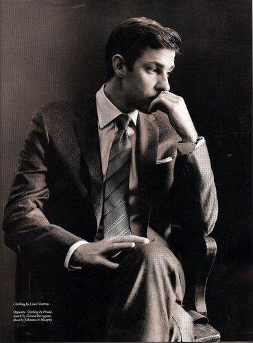 John Krasinski litrato shoot
