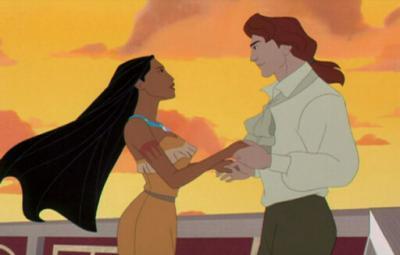 Johne Rolfe and Pocahontas