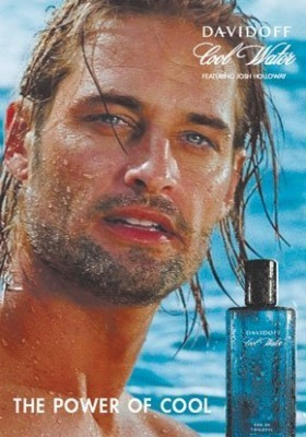 Josh Holloway on Davidoff Cool Water Ads