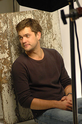 Joshua Jackson wallpaper possibly containing a strada, via entitled Joshua Jackson