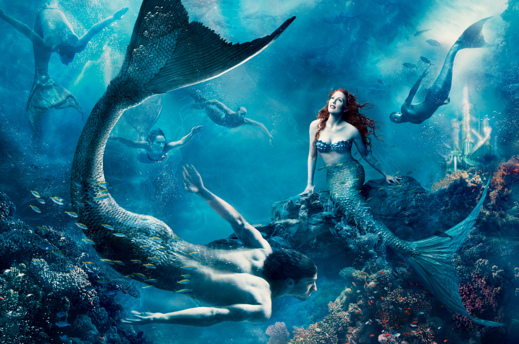 Julianne is The Little Mermaid