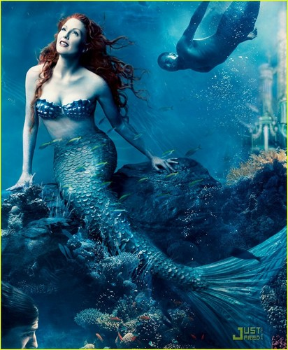 Julianne is The Little Mermaid